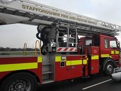 Woman taken to hospital after Penkridge bungalow fire