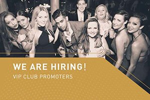 We are hiring VIP club promoters