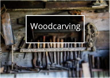 Woodcarving shop image