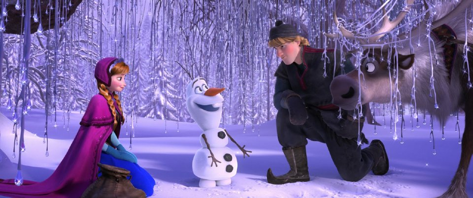 "photo - Loosely based on Hans Christian Andersen's story ""The Snow Queen,""  ""Frozen"" takes the Disney dynamic in a new direction: Rather than fighting villains, two princesses struggle to make amends."