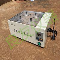 供应HH-4数显恒温水浴锅 双列四孔水浴锅 实验室水浴锅生产厂家