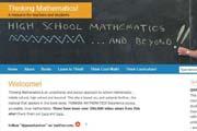 Thinking Mathematics!