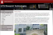 Center for Statistical and Mathematical Computing, Indiana University.