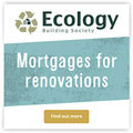 Ecology Building Society mortgages