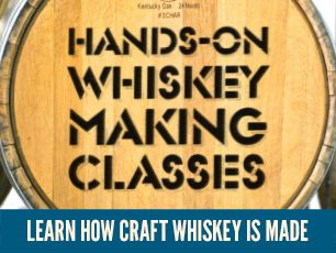 2018 Whiskey Making Classes