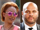Mel B arrived at a courthouse in Los Angeles on Monday for a five-hour hearing over the former couple's financial issues