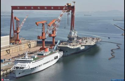 快了,中国海权重器起航,第二艘航母完成首次海试了