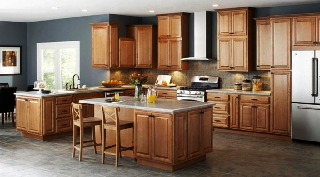 Image of: Unfinished Kitchen Wall Cabinets