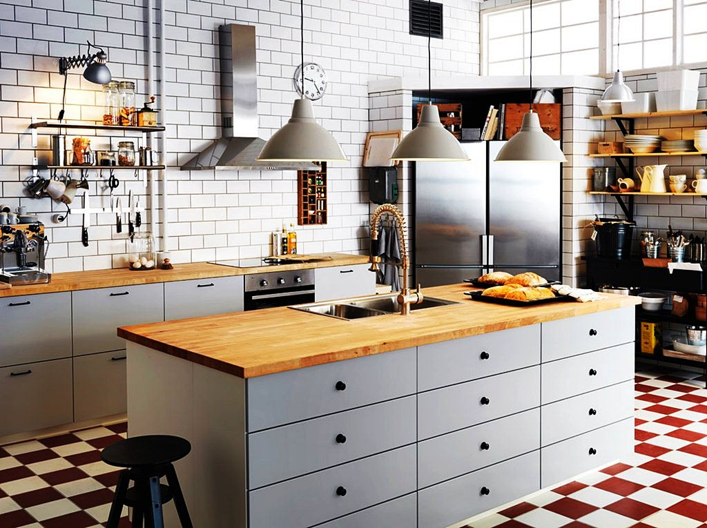 Image of: Ike Kitchen Island