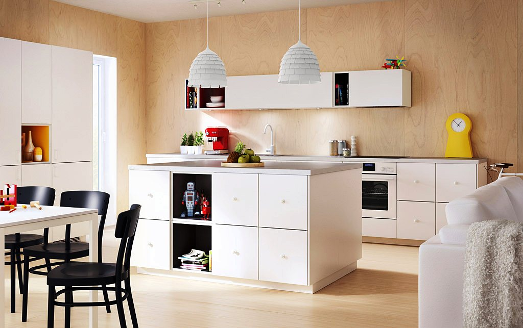 Image of: Ikea Kitchen Island Hack