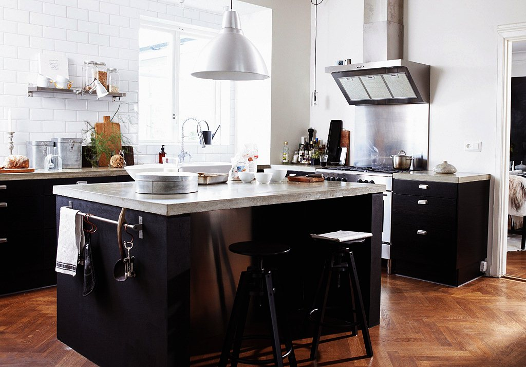 Image of: Ikea Kitchen Island Images