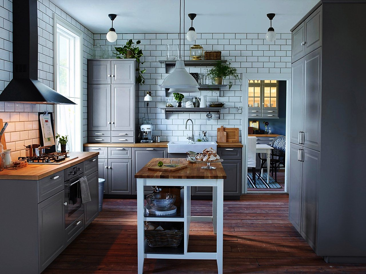 Image of: Rolling Island for Kitchen Ikea