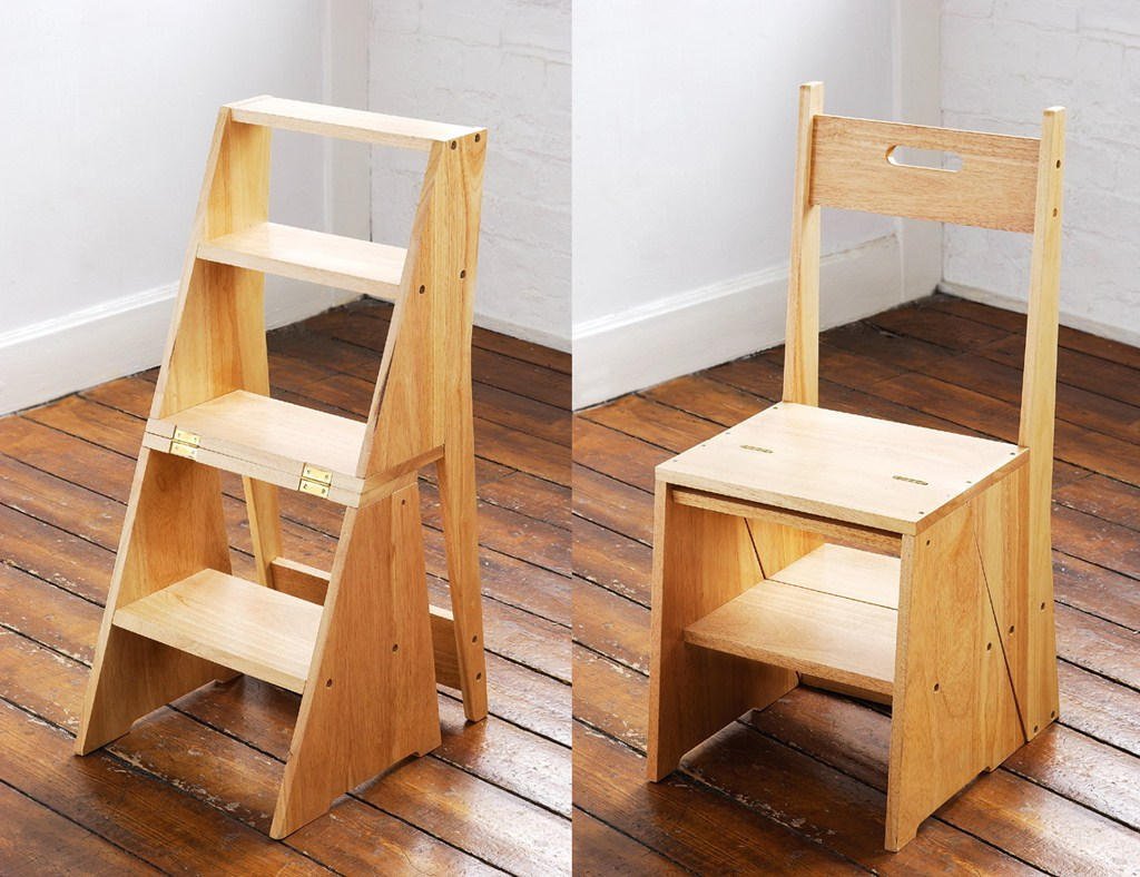 Image of: Wooden Kitchen Step Stool