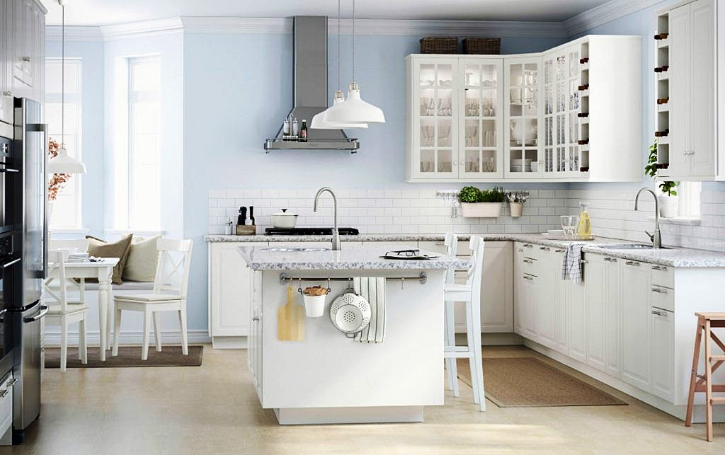 Image of: Ikea Kitchen Island Photos