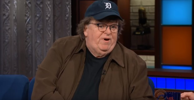 """Michael Moore Admits He Cries """"Every Day"""" Over Trump"""