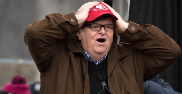Michael Moore: We Have to 'Put Our Bodies on the Line' to Stop Trump