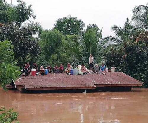 Several dead, hundreds missing after Laos dam collapses
