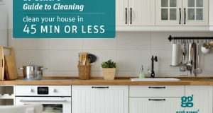 Go-Getter's Guide to Cleaning: Clean Your House in 45 Minutes or Less