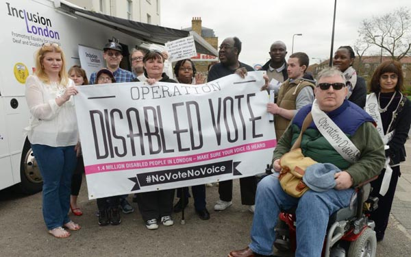 disabled people vote