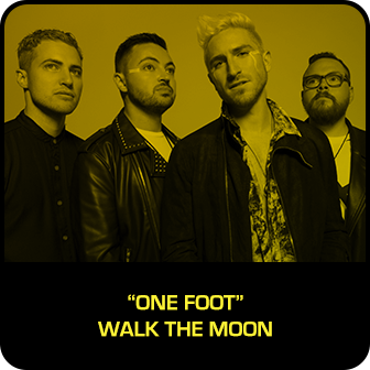 """RDMA 2018 Winner - BEST SONG THAT MAKES YOU SMILE - """"One Foot"""" by Walk The Moon"""