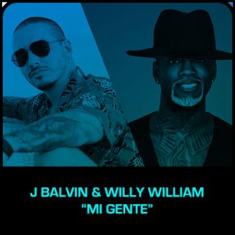 """RDMA 2018 Winner - BEST COLLABORATION - J Balvin & Willy William """"Mi Gente"""""""