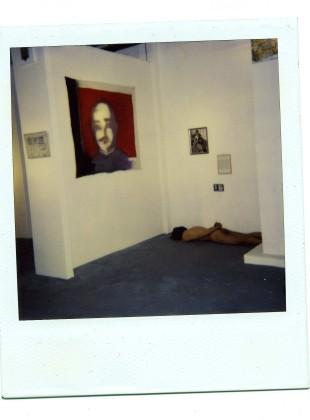 Peaceful commemoration of the death of Bantu Stephen Biko  1993, performance / installation