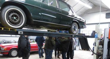 Mercedes-Benz Club Nederland bij Stolk Balkbrug
