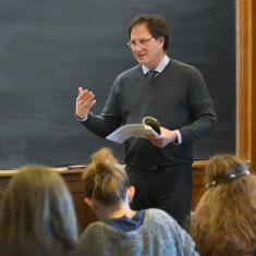 Teaching at Yale