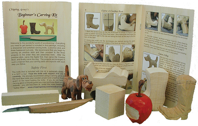 Beginner Wood Carving Kits