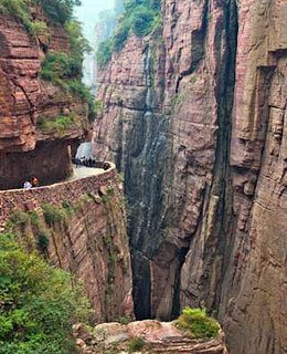 guoliang tunnel road china
