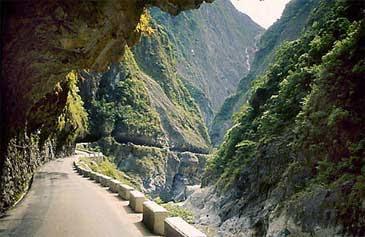 taroko gorge road taiwan
