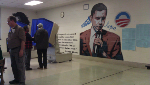 Judge Orders Obama Mural Covered At Northeast Philadelphia Polling Place