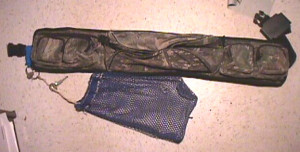 underwater metal detecting belt