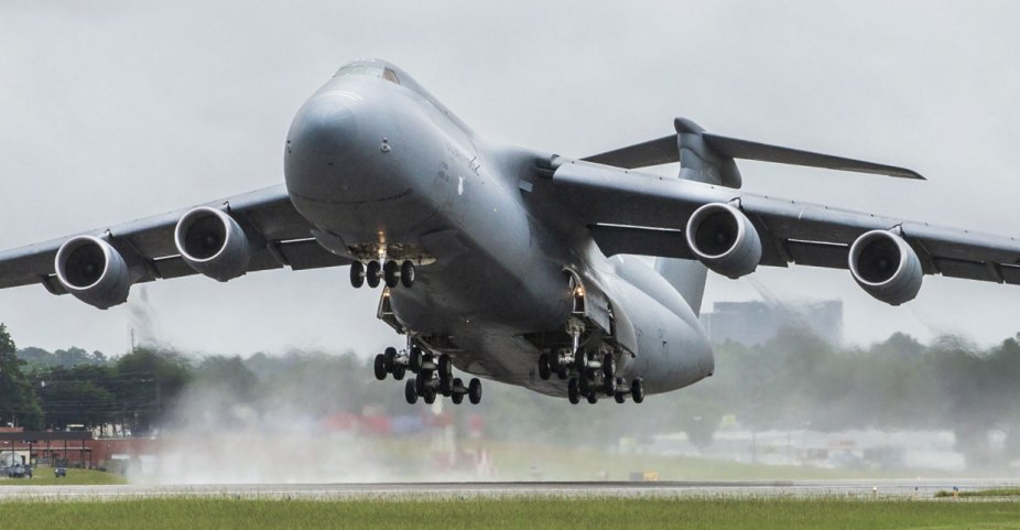 The last of 52 C-5M Galaxy airlifters departed the Marietta production facility on 2 August, some 20-years after the upgrade programme was first launched. (Lockheed Martin)