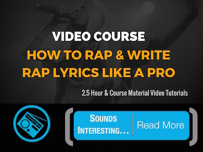 how to rap course