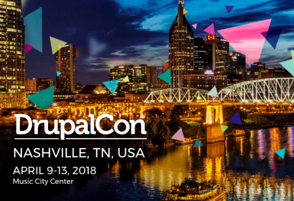 DrupalCon Nashville 2018 | April 9-13