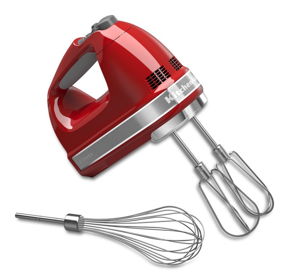 KitchenAid KHM7210ER 7-Speed Digital Hand Mixer