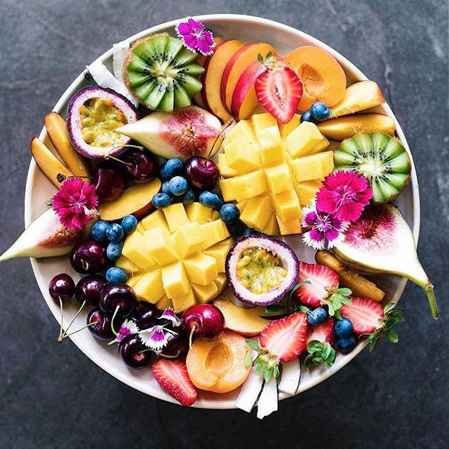 Beautiful fruit platter