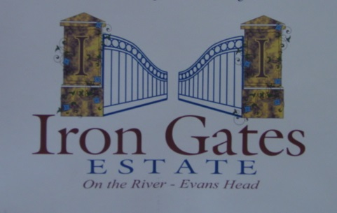 Extract from public pamphlet advertising the Iron Gates development back in the 1990's