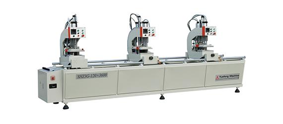 塑料门窗三位焊接机(直线轴承) SHZ3G-120×3600