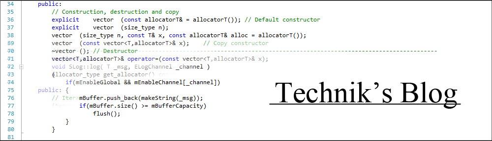Technik's blog