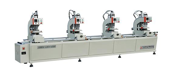 塑料门窗无缝四位焊接机(单面) SHWD4-120×4500