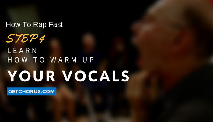 how to warm your vocals before you rap