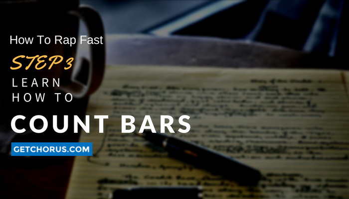 learn how to count bars in a rap song