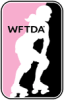 Proud member of Women's Flat Track Derby Association