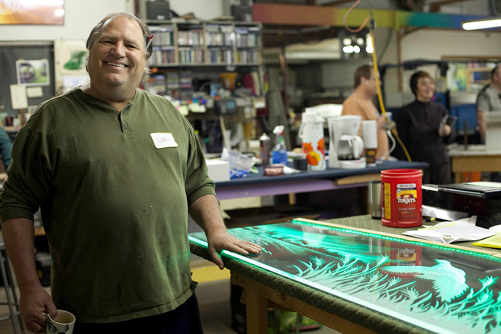 Glass Art Guild founder Dan Cummings.