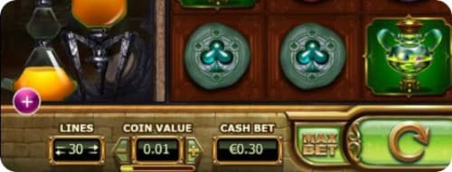 slot paytable