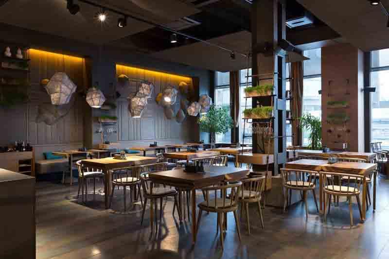 长乐中路风味餐厅设计