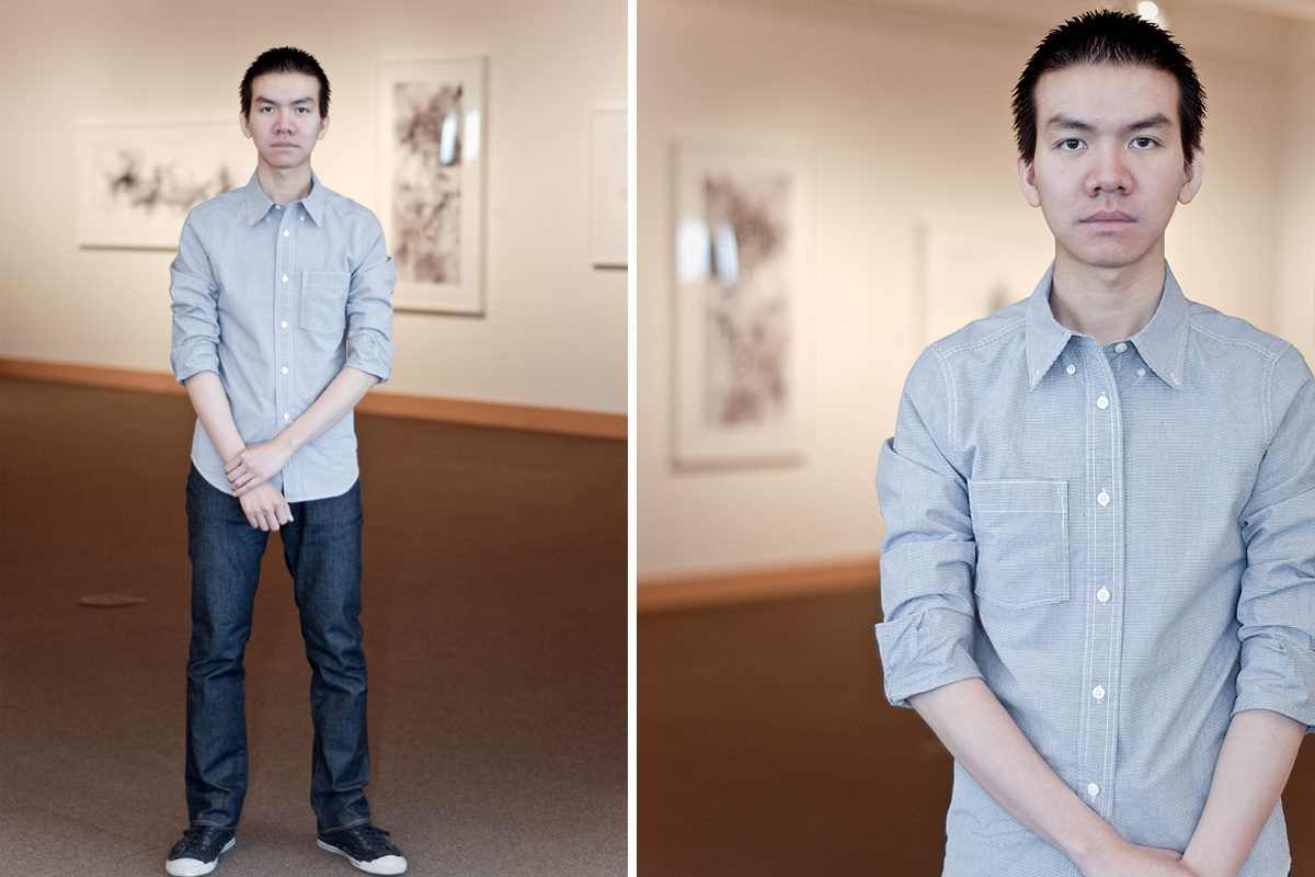 Utah artist Van Chu. Photo by Zoe Rodriguez.