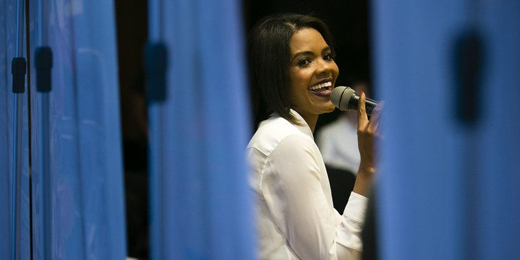 Image: Candace Owens speaks at an event